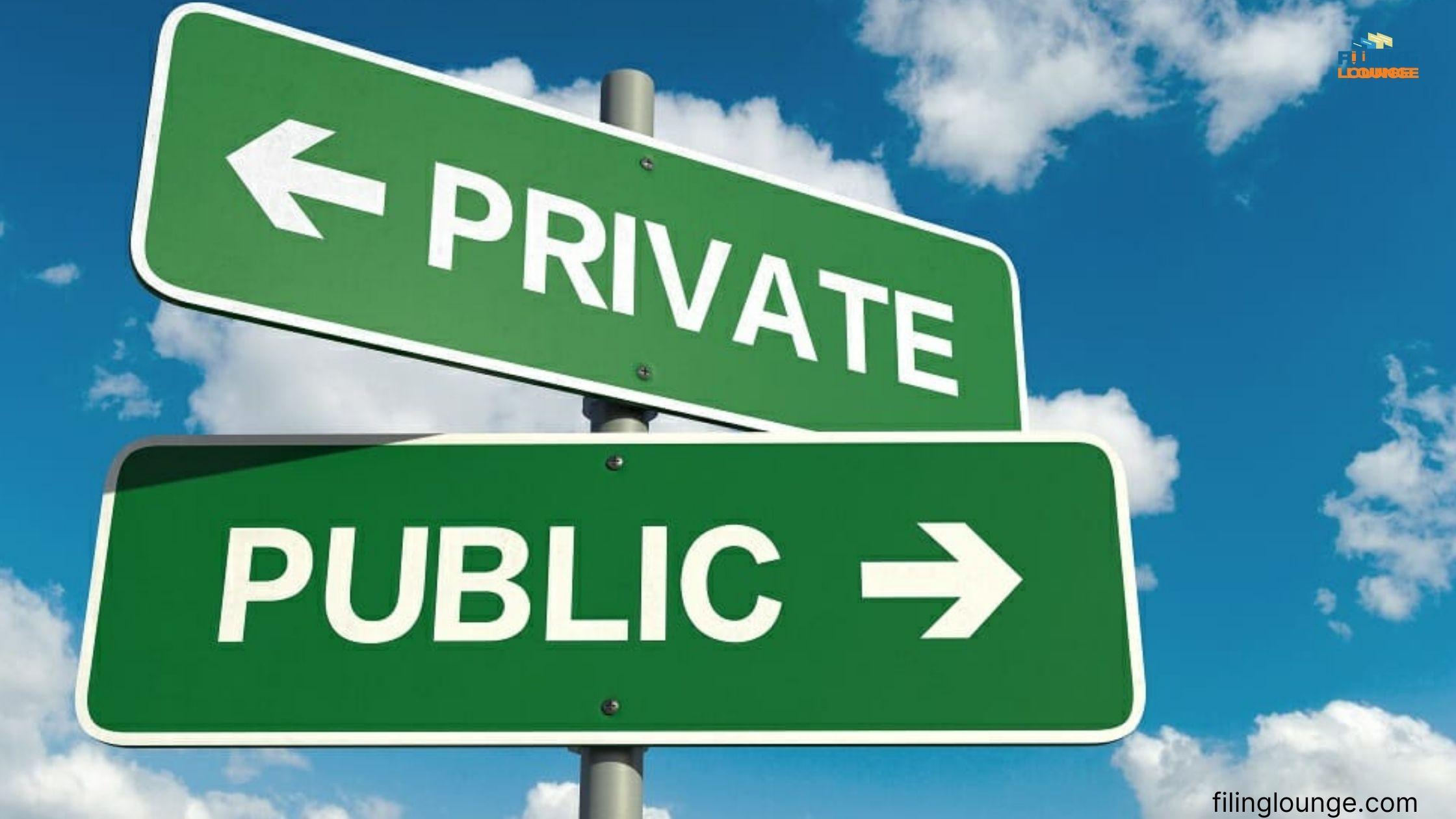 Conversion of Private Company into Public Company