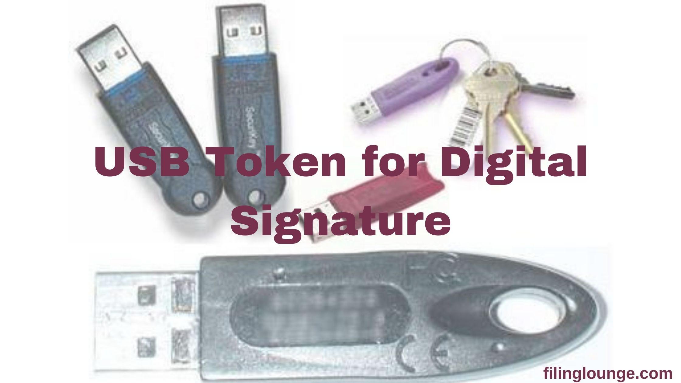 USB Token for Digital Signature